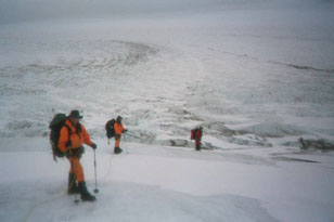 PMT president, Rob Weber, on his southern Patagonia ice cap expedition in Chile